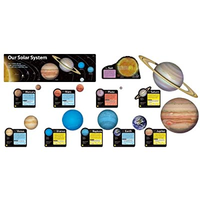 Solar System Bulletin Board Set: Office Products