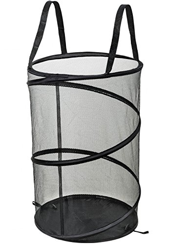 NYHI Pop-Up Mesh Laundry Hamper With Reinforced Handles(1)