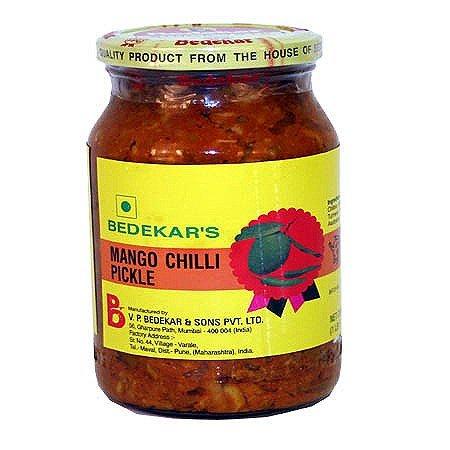 Bedekar's Mango Chili Pickle - 400g