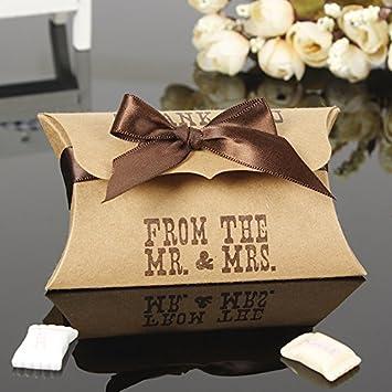 Amazon.com: 100pcs/lot caja de dulces caja de chocolate Pary ...