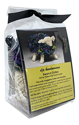 DJE Handwovens Swatch Critter Kit for Schacht Zoom Loom (Sidney The Sheep)