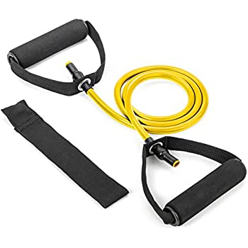 Amazon.com : RitFit Single Resistance Exercise Band with Comfortable Handles - Ideal for