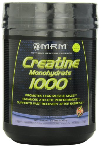 MRM Моногидрат креатина 1000, 35,2-унция пластиковой баночке