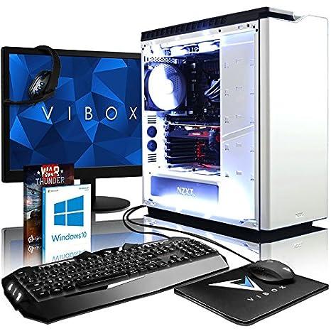 VIBOX Aries 9 Gaming PC Ordenador de sobremesa con Cupón de Juego, Win 10, 22