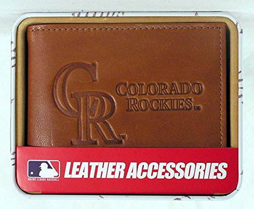 Rico Industries Colorado Rockies MLB Embossed Leather Billfold ()