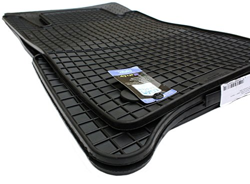 NEU! Gummimatten Mercedes-Benz E-Klasse W211 S211 CLS W219 AMG Auto Fußmatten Original Qualität 4-teilig Kegel rund