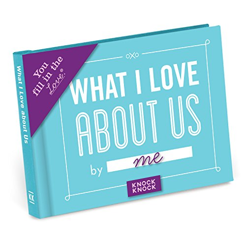 Knock Knock What I Love about Us Fill in the Love Book Fill-in-the-Blank Gift Journal