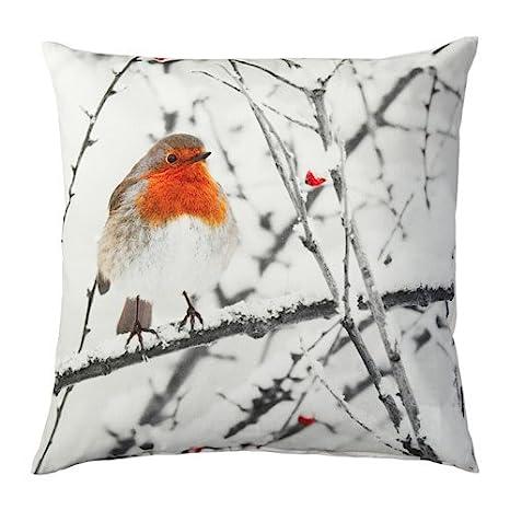 "Amazon.com: IKEA nuevo ""eldblomma – Funda para cojín ..."