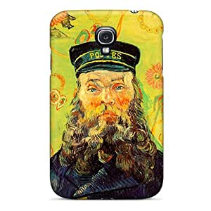 CbiZHta1936owqOq Tpu Case Skin Protector For Galaxy S4 Portrait Of Joseph Roulin With Nice Appearance