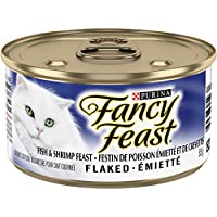 Purina® Fancy Feast® Flaked Fish & Shrimp Feast Cat Food 85g Can