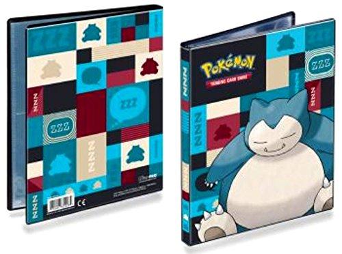 Ultra Pro Pokemon Snorlax 4-Pocket Portfolio 85528
