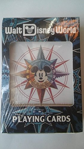 Disney World Discover The Magic Playing Cards