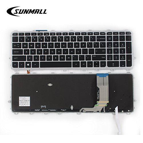 SUNMALL Laptop Keyboard Replacement for HP ENVY 15-J 17-J 15-j000 15-j100 15t-J000 15t-j100 15z-j000 17-j000 17t-j000,HP TouchSmart 15-J 15T-J 17-J 17T-J 15-J000 17-J000 US Layout(6 Months Warranty)