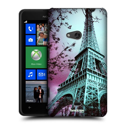 Head Case Designs Eiffel Tower Paris France Best of Places Protective Snap-on Hard Back Case Cover for Nokia Lumia 625
