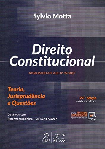 Direito Constitucional: Teoria, Jurisprudência e Questões