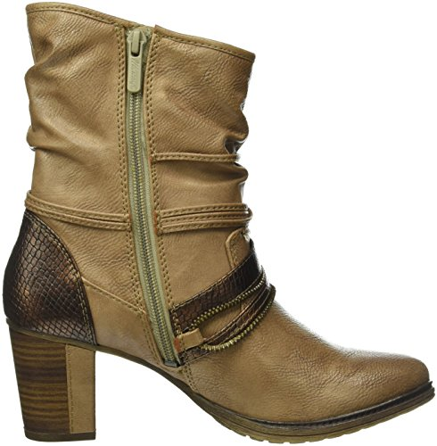 Mustang Women's 1199-506 Ankle Boots, Blau (820 Navy) Brown (Natur)