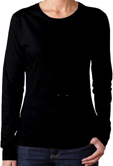 Teen Girls Printed Long Sleeves Black MiiyarHome Womens Long Sleeve T-Shirts Drpoo Tee