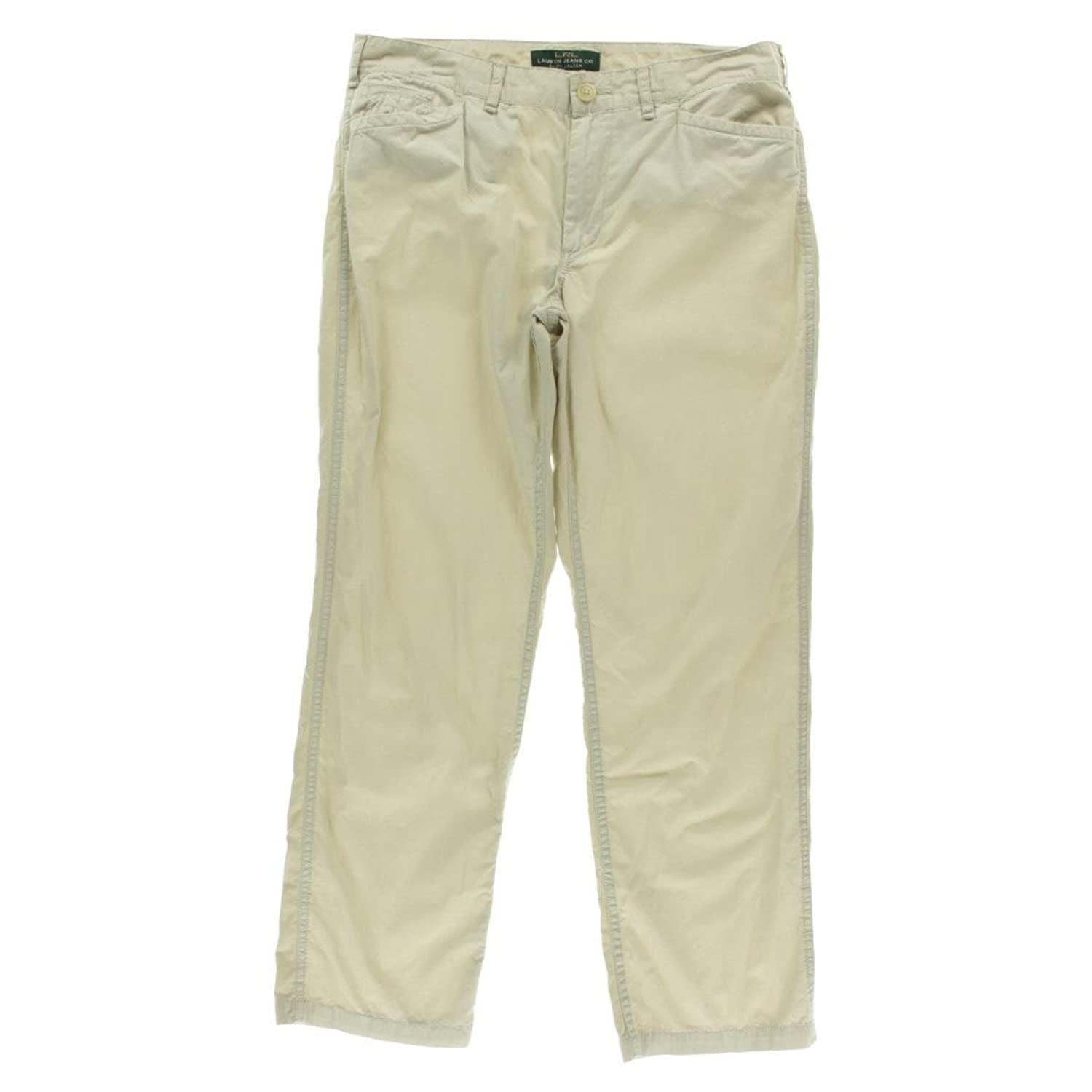 Lauren Jeans Co. Cuffed Chino Pants Stone 12