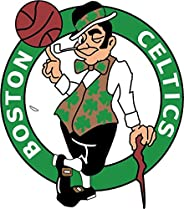 "Boston Celtics NBA Basketball Car Bumper Sticker Decal 5"""