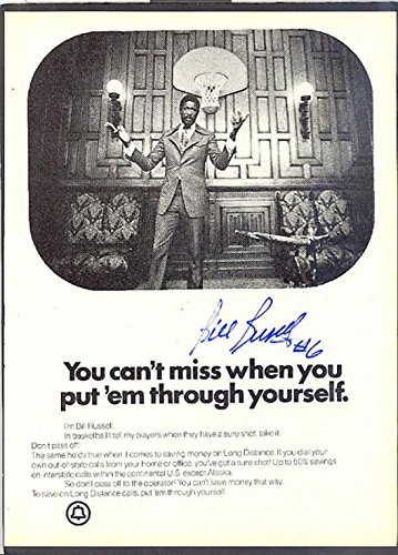 signed-bill-russell-photo-bellsouth-ad-autographed-nba-photos