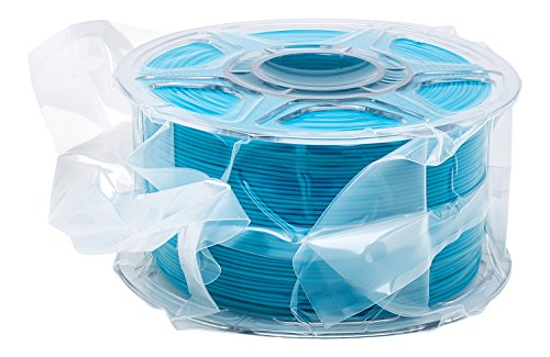 Titan Premium PLA 3D Printer Filament (1.75mm), ±0.03mm Dimensional Accuracy, Compatible with 3D Printing Pens and FDM Desktop Printers, Splicer Sealed, 1kg Spool, Blue