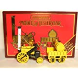 Matchbox Models of Yesteryear 12 1829 Stephensons Rocket - Limited Edition - Yellow and Black - 1:64 Scale - Diecast