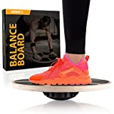 URBNFit Balance Board - Core Trainer (Wood) - Increase Stability, Strength and Flexibility - Ballet and Dance trainer