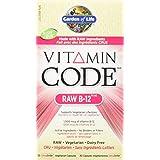 Garden of Life Vitamin Code Raw B-12 UltraZorbe Vcaps, 30 Count
