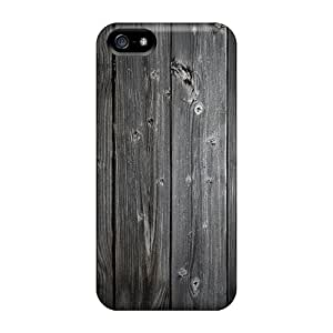 Hot Fashion JOHaqWi8121ZTwHo Design Case Cover For Iphone 5/5s Protective Case (wood Wall 3)