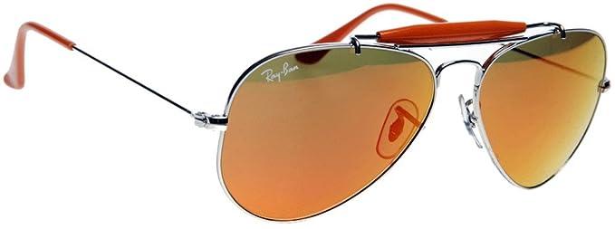 6aa34e9182 Ray Ban Men s Rb3407 Outdoorsman Ii Rainbow Sunglasses Gold Green ...