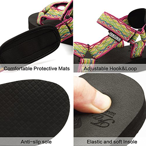 with Shoes Fantiny Women's Arch Support Pink Original Insole Sandal Mat Yoga CIOR qIR7vwq