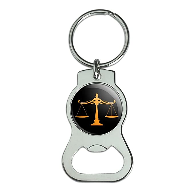 Escalas de justicia jurídica abogado botella Cap abridor ...