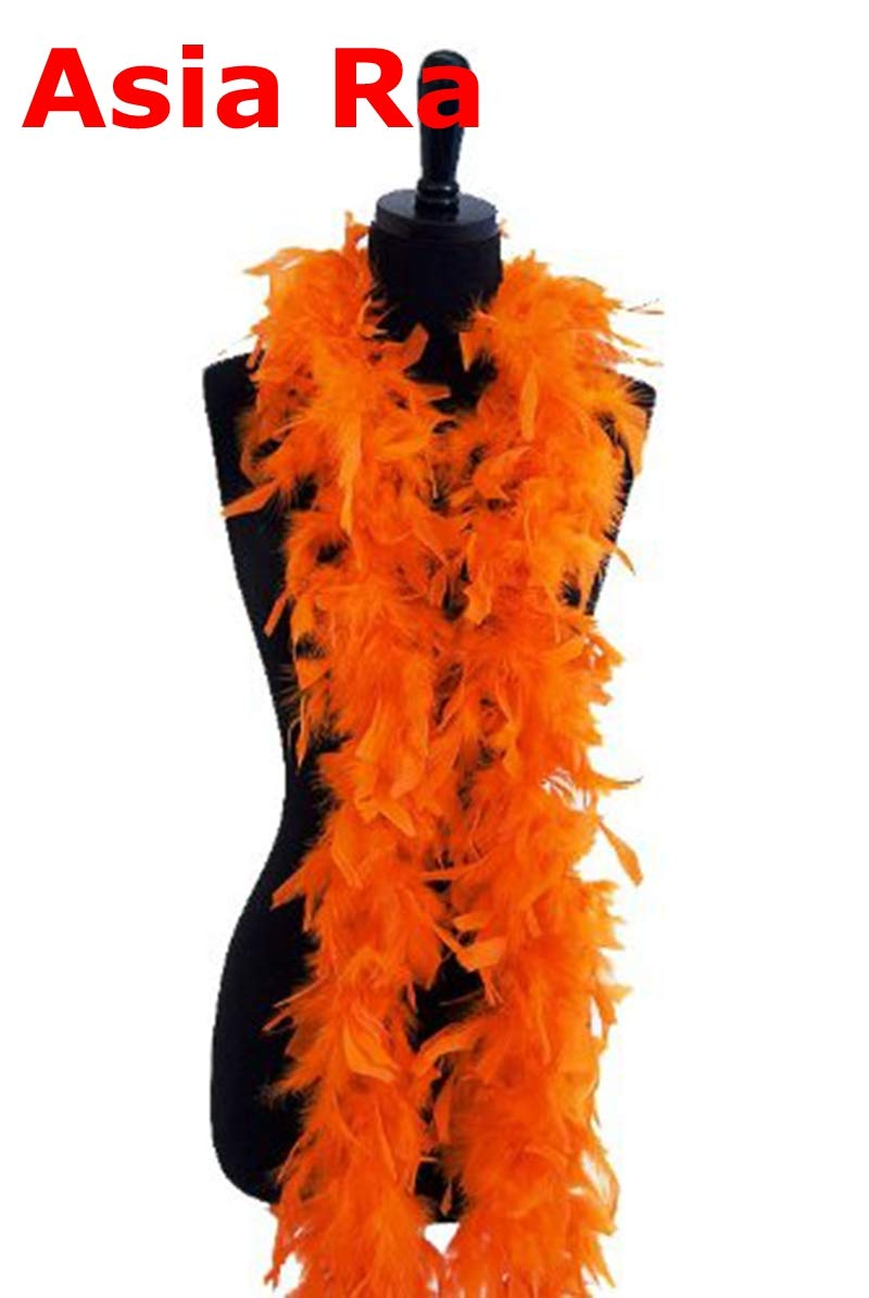 Maslin New 10 Meters Burgundy 40g Chicken Turkey Feather Boa Feather Birthday Party for Wedding Decorations Wedding Dress Accessories - (Color: Purple)