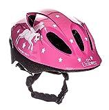 Sport Direct 'Flying Unicorn Bicycle Helmet Kids Girls Pink Unicorn 48-52cm CE EN1078:2012+A1:2012