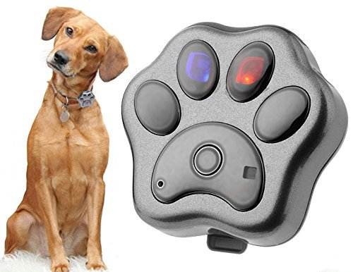 Nestter GPS Pet Tracker on Collar, Smart Pet Tracking with GPS, Wi-Fi and Cellular, Locate Dog Safe Fence Smart LED Lights with App for iPhone & Android (space grey)