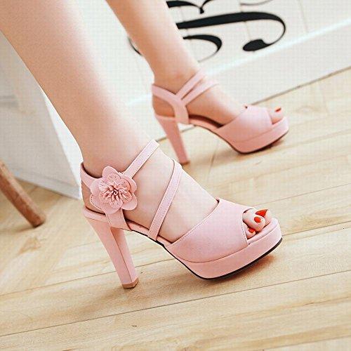 rosa MissSaSa Elegante Platform Sandali con Donna Zq480