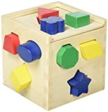 5 Pack MELISSA & DOUG SHAPE SORTING CUBE
