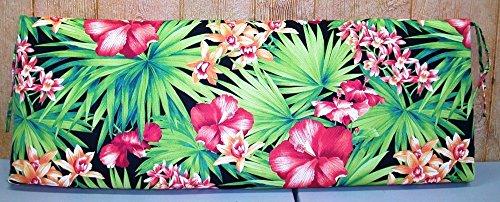 Outdoor Patio Bench Cushion ~ Bahia ~ 16