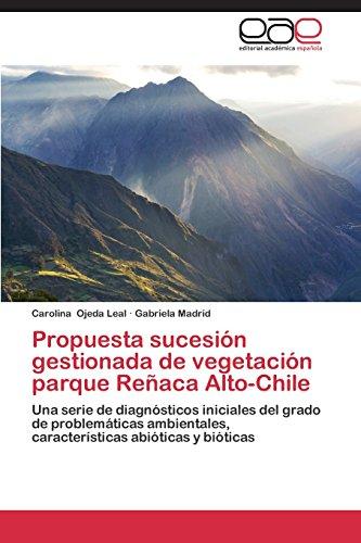 Descargar Libro Propuesta Sucesion Gestionada De Vegetacion Parque Renaca Alto-chile Ojeda Leal Carolina