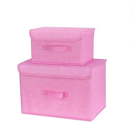 Cajas de almacenamiento de tela Cajas de almacenamiento plegables ...