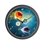 CafePress - New Solar System - Unique Decorative 10'' Wall Clock