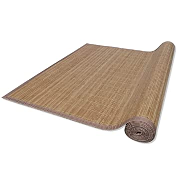 Vidaxl Bambusmatte Bambus Teppich Kuchenteppich Vorleger Laufer