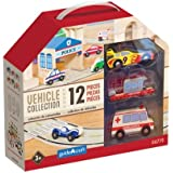 * WOODEN VEHICLE COLLECTION SET OF 12