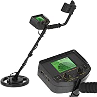 KKmoon Underground Metal Detector100-240V Gold Digger Treasure Hunter Scanner Scanning Tool LCD Display with Earphone Buzzer