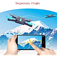 Professional Drone,Vanvler WiFi FPV Quadcopter Mini Dron Foldable Selfie Drone RC Drones With 720P HD Camera