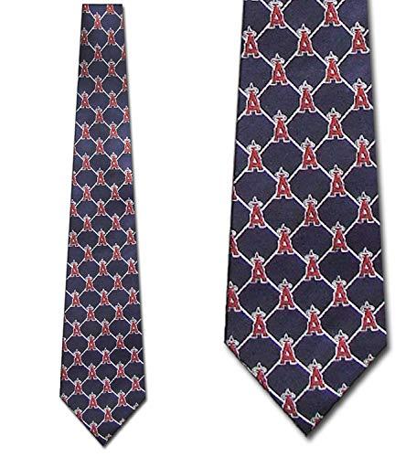 Anaheim Angels Woven Silk Necktie - Woven ()
