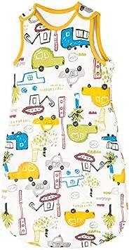 Happy Cherry Toddler Baby Wearable Sleeping Blanket Soft Cotton Sleeveless Sleep Sack Bag 0-36 Months