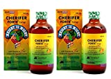 2 CHERIFER Forte Syrup with Taurine & Double