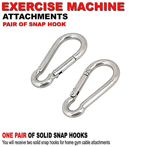 FITNESS MANIAC Strength Training Gym Accessories Home Gym Cable Attachments Exercise Machine Equipment Pull Press Down…