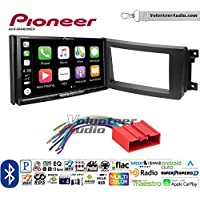 Volunteer Audio Pioneer AVH-W4400NEX Double Din Radio Install Kit with Wireless Apple CarPlay, Android Auto, Bluetooth Fits 2007-2015 Mazda CX-9